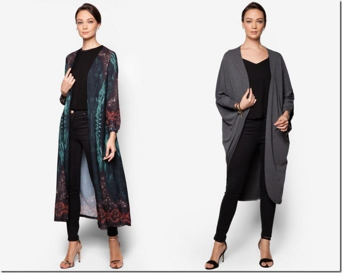 Up Your Layering Skills With SIX Chic Long Cardigan Styles