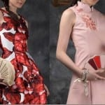 Fashionista NOW: Oriental Fan Inspired And Chinese Brocade Clutch Statement For CNY 2016