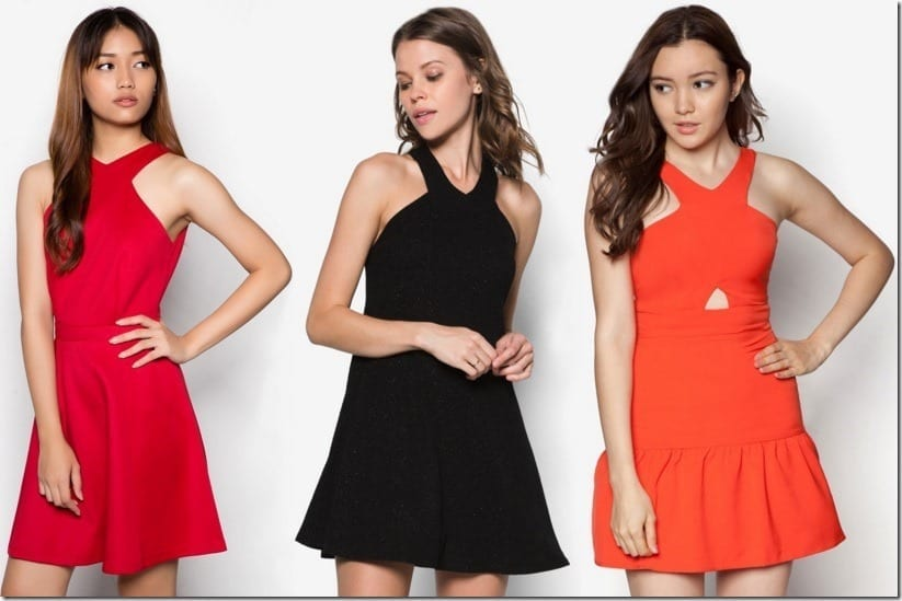 X Marks The Hottest Neckline Trend In 2016 Dresses