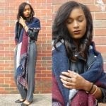 Fashionista NOW: 10 Chic An Easy Ways To Wear A Blanket Scarf