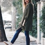 Fashionista NOW: Shades Of Green Coat Outerwear Layering Ideas