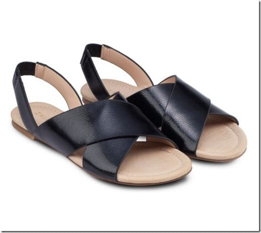 black-cross-strap-sandals