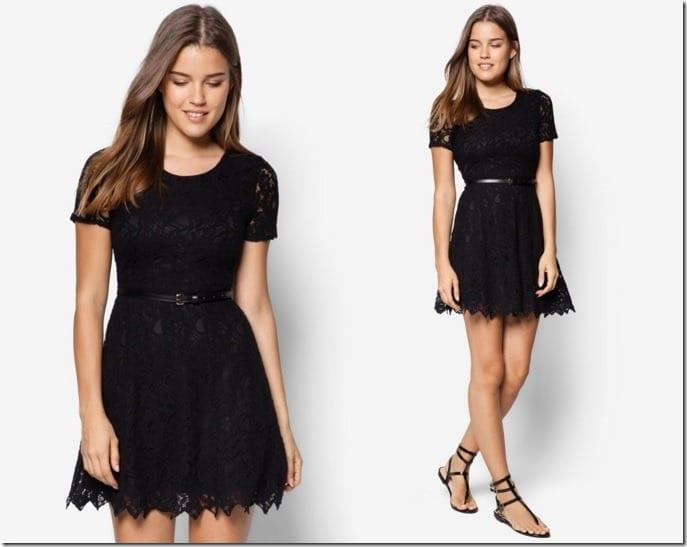 black-floral-lace-skater-dress