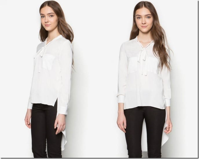 bow-neck-high-low-blouse