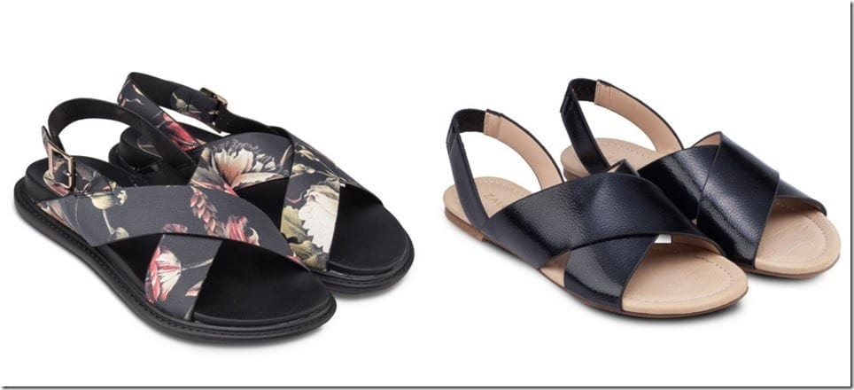 The Criss Cross Flat Sandal Footwear Trend