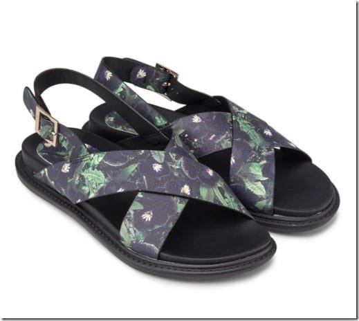 green-floral-cross-sandals
