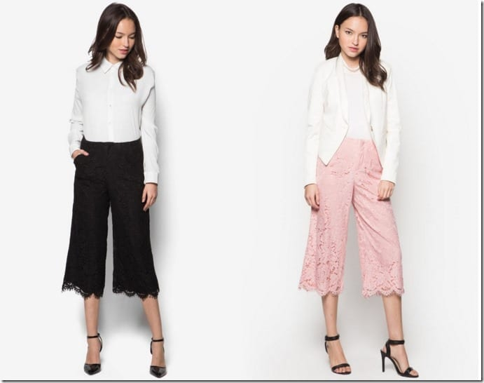 Lace Culottes In FOUR Covetable Colors