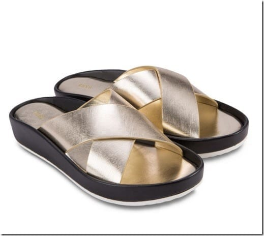 metallic-gold-slide-sandals