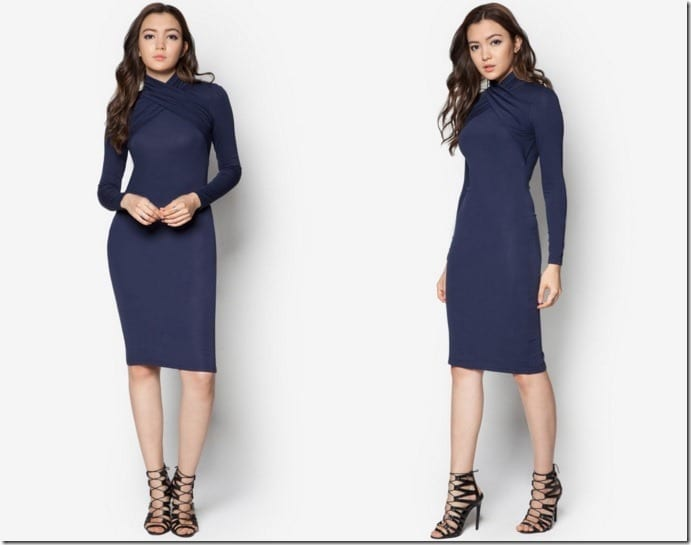 neck-wrap-midi-dress