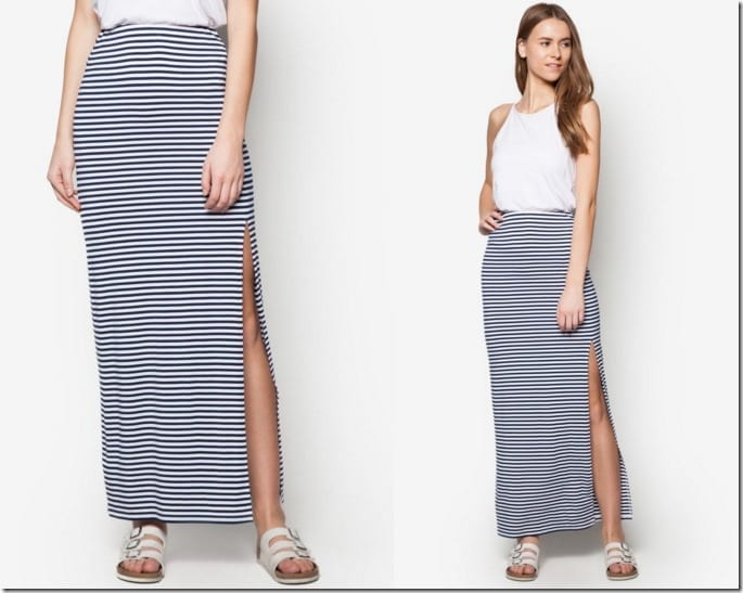 side-slit-striped-maxi-skirt
