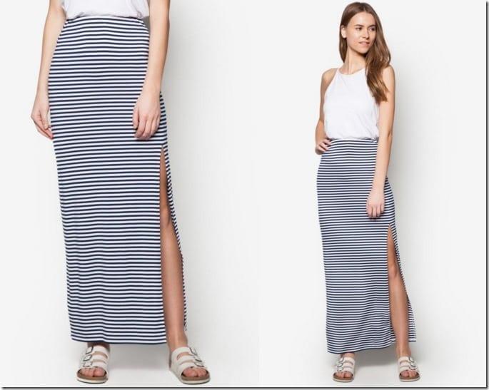 side-slit-striped-maxi-skirt