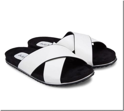 white-criss-cross-sliders