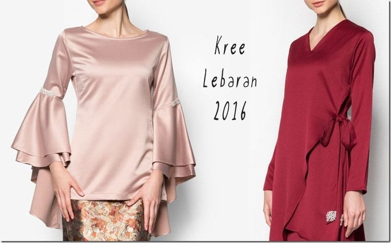 Baju Raya 2016 ~ Drool-Worthy Modern Kurung Styles For Eid