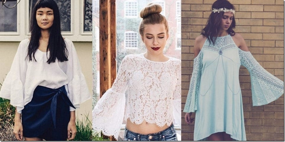 All The Bell Sleeves That Are Happening on Instagram