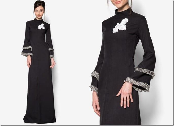 black-abaya-floral-applique