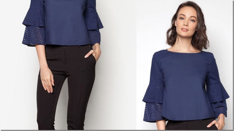 boat-neck-layered-bell-sleeve-top