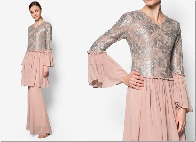 chiffon-lace-ruffle-pink-kurung