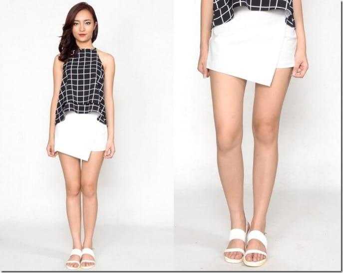 cotton-white-folded-skort