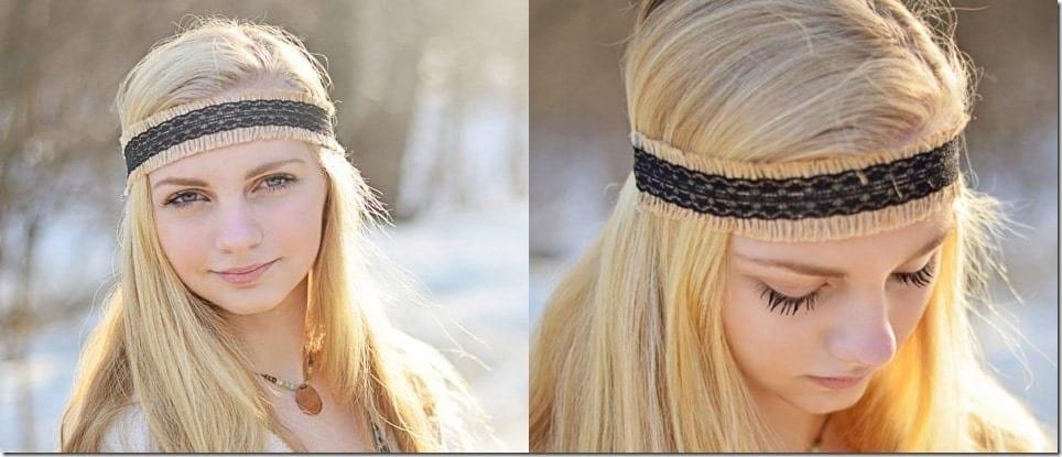 elastic-black-boho-headband