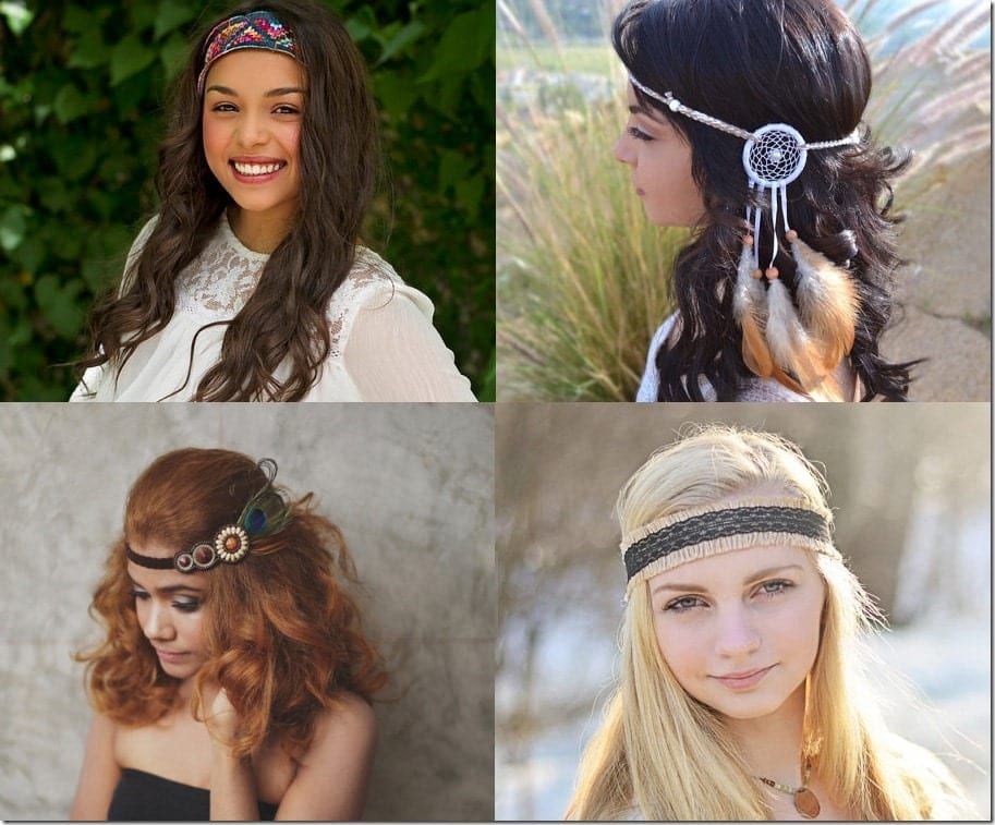 7 Headband Styles To Wear With Your Music Festival Wardrobe