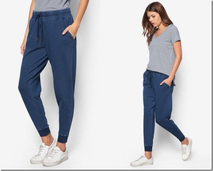 indigo-sporty-track-pants
