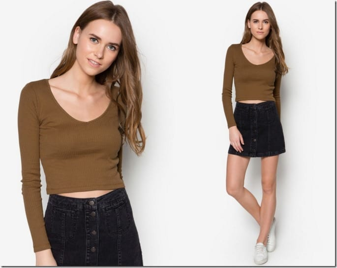 long-sleeve-vneck-top
