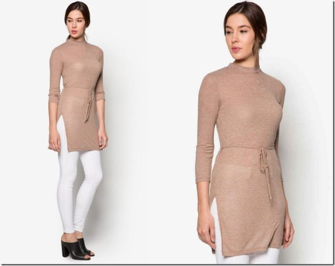 mock-neck-belted-tunic