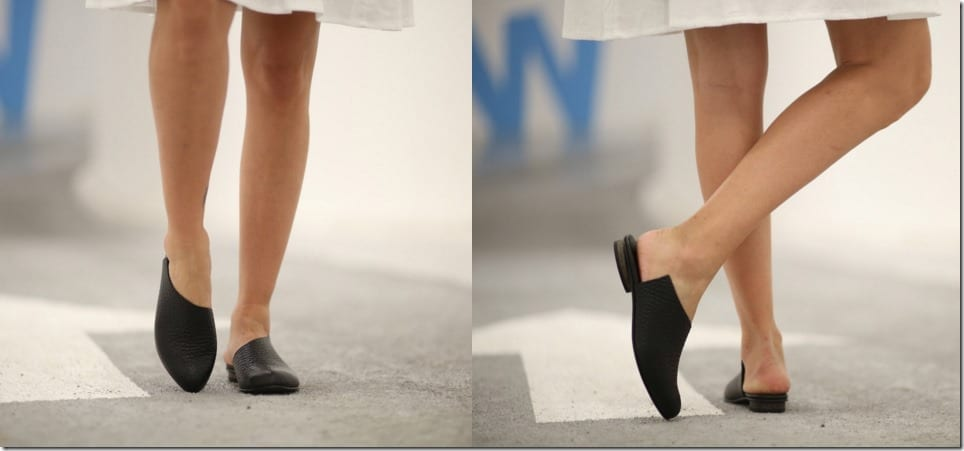 15a97ea852d40 4 Open Back Footwear Styles For Chic Ankle Flaunting
