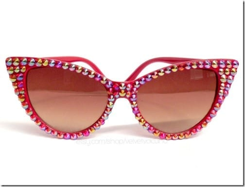 retro-glitzy-red-cateye-sunglasses