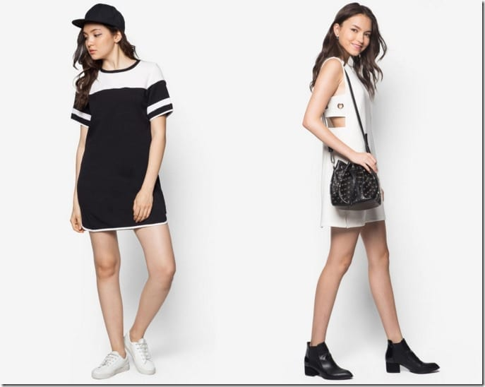 Wear A Sporty Tee Dress To Beat The Tropical Heat Stress