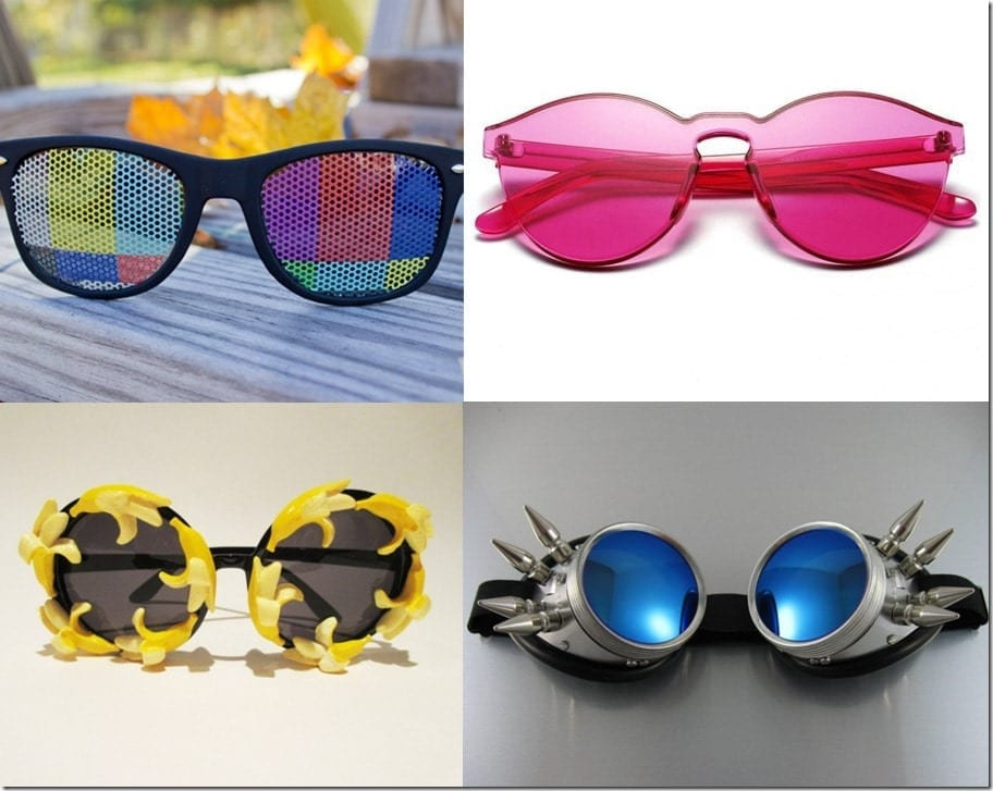 Fun Statement Sunglasses To Wear To Coachella 2016