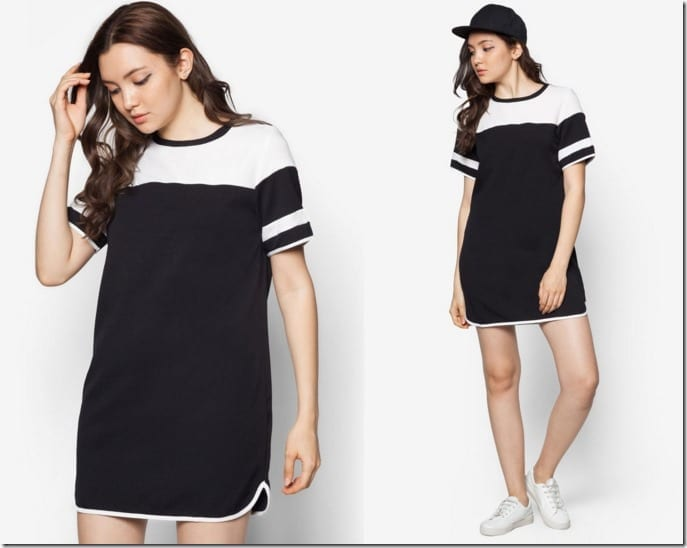 varsity-curved-hem-dress