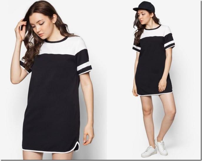 varsity-curved-hem-dress