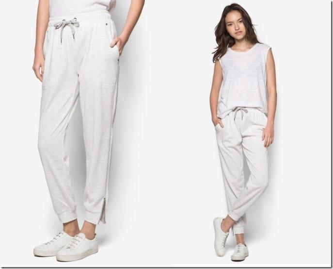 white-jogger-track-pants