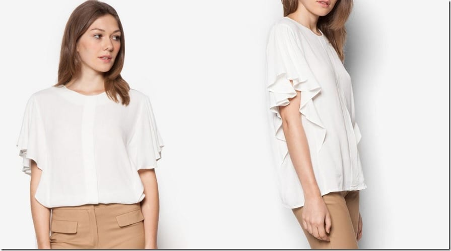white-ruffle-sleeve-blouse