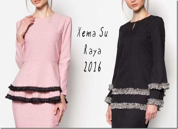 Designer Baju Raya ~ Xema Su Raya 2016 Collection