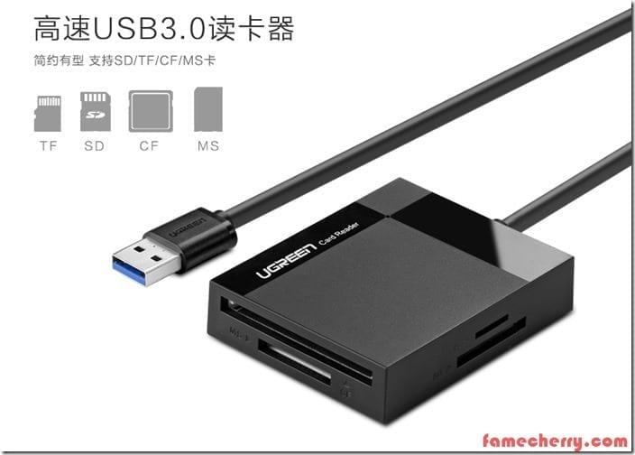 UGREEN CF Card Reader USB 3.0 Malaysia