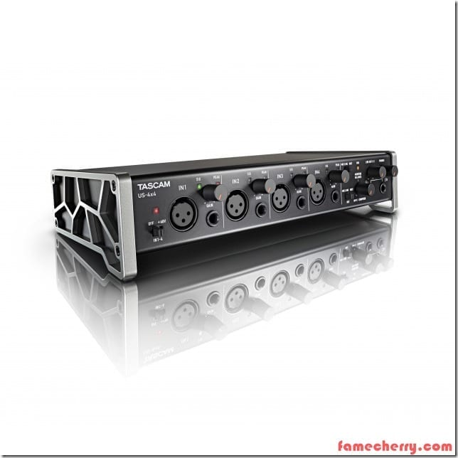 Tascam Audio Interface US 4x4 Malaysia