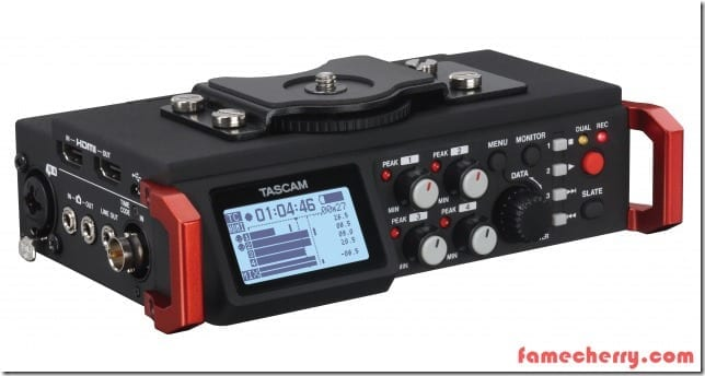 Tascam DR-701D Linear PCM Recorder Mixer Malaysia