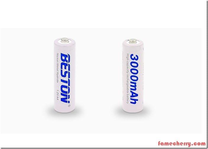 Beston Rechargeable AA Batteries Malaysia