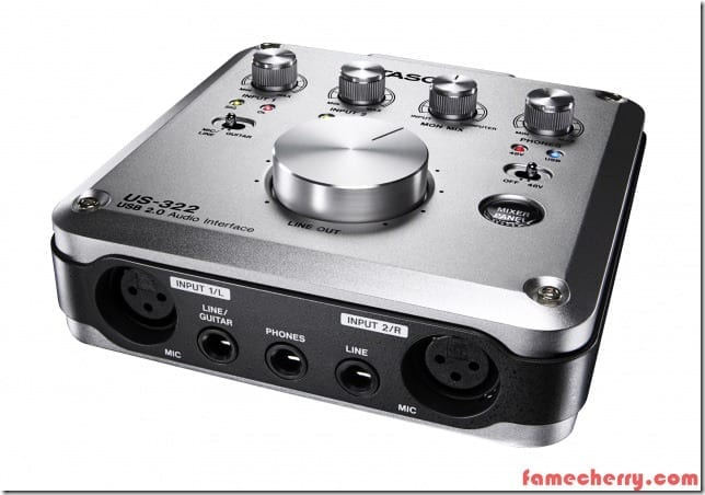 Tascam Audio Interface US 322 Malaysia