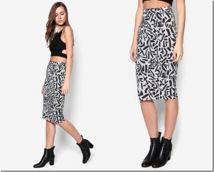 abstract-print-pencil-skirt