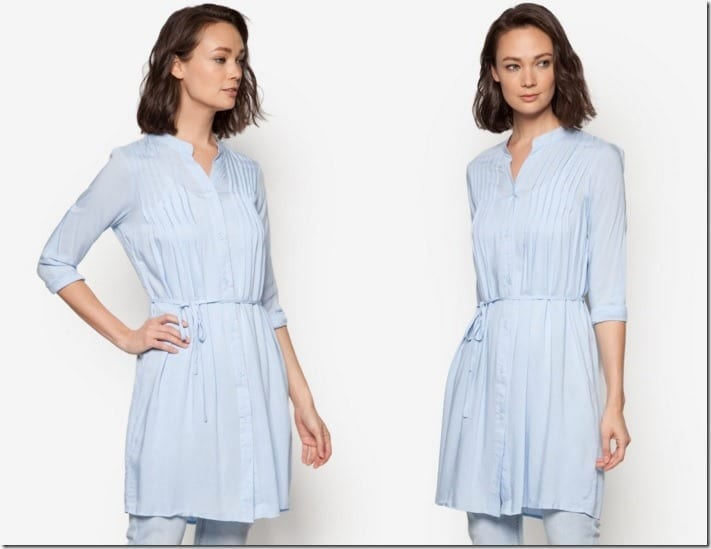 baby-blue-pleated-tunic-top