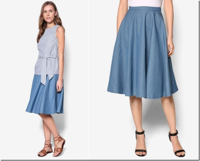 5 neutral midi skirt styles anyone can wear