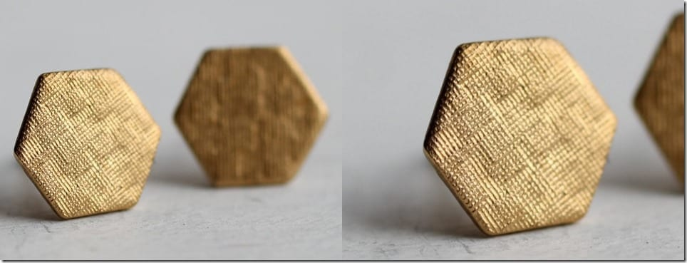 geometric-hexagon-stud-earrings