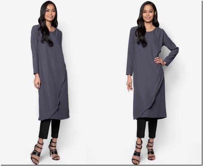 grey-foldover-tunic-top