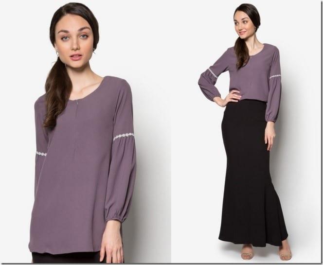 grey-long-sleeve-blouse