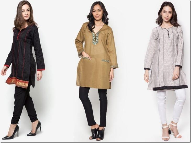 5 Kurti Style Tunic Blouse Ideas For Raya 2016