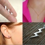 Fashionista NOW: Lightning Bolt Inspired Jewelry Ideas