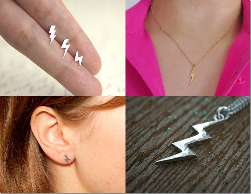 Lightning Bolt Inspired Jewelry Ideas